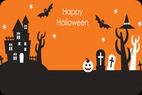 Hope Your Halloween Is A Treat Stationery, Backgrounds