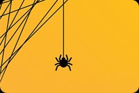 Spider Trick Or Treat Stationery, Backgrounds