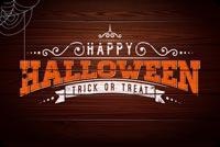 Halloween Wooden Theme Stationery, Backgrounds