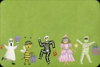 Ghost, Mummy, Skeleton And Fairy Stationery, Backgrounds