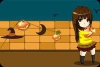 Girl Hugging A Pumpkin Stationery, Backgrounds
