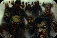 Zombies World Stationery, Backgrounds