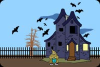 Creepy Old Mansion With Bats Stationery, Backgrounds