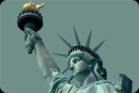 A Glance At Statue Of Liberty Stationery, Backgrounds