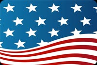 The Stars Of American Flag Stationery, Backgrounds