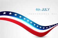 4th Of July Celebrations Stationery, Backgrounds