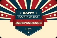 Happy Independence Day Stationery, Backgrounds