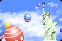 Statue Of Liberty Standing Tall Stationery, Backgrounds