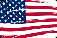 Respect The American Flag Stationery, Backgrounds