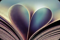 Every Page Has Heart Stationery, Backgrounds