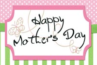 Send Mother's Day Wishes Stationery, Backgrounds
