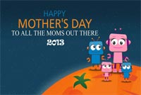 Happy Mother's Day To All Moms Stationery, Backgrounds
