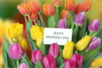 Wish Happy Mother's Day Stationery, Backgrounds
