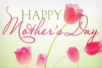 A Wish For Mother's Day Stationery, Backgrounds
