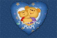 Mothers day email stationery. I Love You Mommy