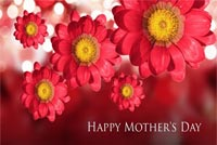 Happy Mother's Day Flowers Stationery, Backgrounds