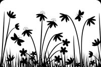 Nature In Black And White  Stationery, Backgrounds