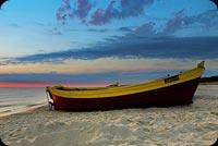 Scenic Sunset Beach Stationery, Backgrounds
