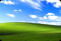 Windows Xp Bliss Wallpaper Stationery, Backgrounds