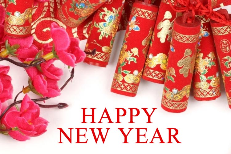 New Year email stationery (stationary): Chinese New Year Wishes For You