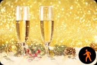 Animated A Sparkling New Year's Eve Stationery, Backgrounds