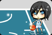Wide Eyed Kid With Basketball Stationery, Backgrounds