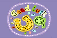 Good Luck To You Stationery, Backgrounds
