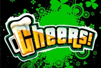 St Patrick's Day Cheers Stationery, Backgrounds