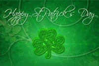 St patricks day email stationery. St. Patrick's Day Lucky You