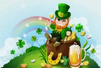 St. Patrick's Day Celebration Stationery, Backgrounds