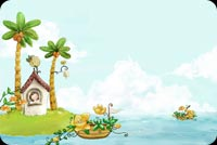 Island Life Is Best At Summer Stationery, Backgrounds