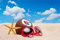 Summer email stationery. Have A Cool Summer
