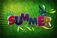 Summer Summer Stationery, Backgrounds