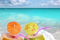 Relax On The Beach Stationery, Backgrounds