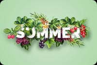 Green Summer Stationery, Backgrounds