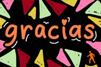 Gracias Stationery, Backgrounds