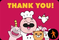 Thank You By Chefclub Stationery, Backgrounds
