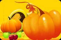 The Plump Orange Pumpkin Stationery, Backgrounds