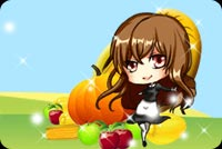 A Girl And A Pumpkin Stationery, Backgrounds