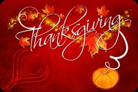 Thanksgiving Is A Blast Stationery, Backgrounds