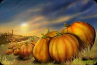 Countless Pumpkins And Thanksgiving Stationery, Backgrounds