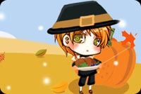Boy Ready For Thanksgiving Stationery, Backgrounds