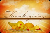 Thanksgiving Is About Food Stationery, Backgrounds