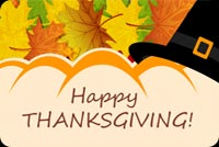 Thanksgiving Warm Wishes For Family Stationery, Backgrounds
