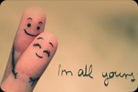 I'm All Yours Finger Stationery, Backgrounds