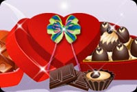 Chocolates In Heart Shaped Box Stationery, Backgrounds