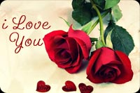 I Love You Roses Stationery, Backgrounds