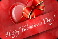 Beautiful Valentine's Day Greeting Stationery, Backgrounds