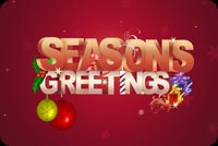 Seasons Greetings During Winter Stationery, Backgrounds