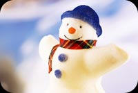 Winter email stationery. Happy Snowman Give Me A Hug